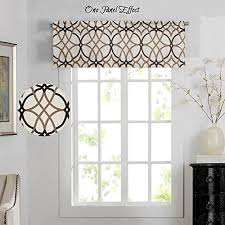 valances for living rooms window valance living room amazon com