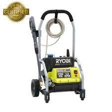 home depot black friday spring 2016 date ryobi 1 700 psi 1 2 gpm electric pressure washer ry14122 the