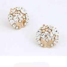 stud earrings online ae06 flower stud earrings online shopping at low price