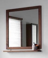 Mirror With Shelves by Tavistock Lava Walnut Mirror With Shelf Freeborn 1st Bath