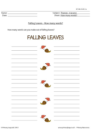 primaryleap co uk autumn word unscramble falling leaves worksheet