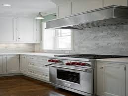 kitchen marble cooktop backsplash carrara marble subway tile