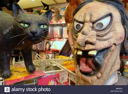 mask and a cat halloween party items at aha ha ha jokes