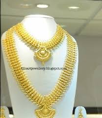 gold haram sets 22 carat gold bridal jewellery designs jewellery designs