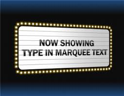 14 best photos of movie marquee template for powerpoint free