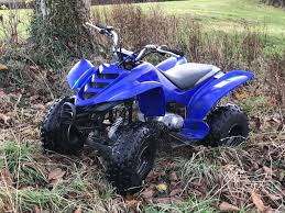 blue 80cc yamaha raptor quad bike in taunton somerset gumtree