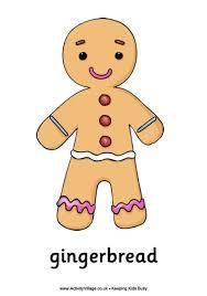 christmas gingerbread man poster