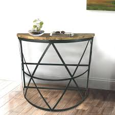 Oak Accent Table Unfinished Wood Console Table U2013 Launchwith Me