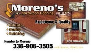 moreno s hardwood flooring thomasville nc 27360 homeadvisor