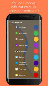 edge lighting change color edge lighting lite apk thing android apps free download