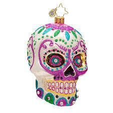 christopher radko ornaments 2014 radko skull ornament