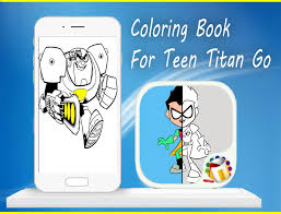 coloring book teen titan android apps google play