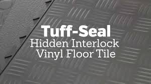 tuff seal interlock vinyl floor tile