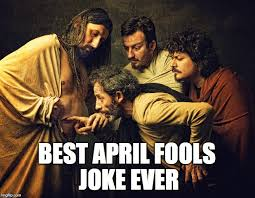 Jesus Easter Meme - jesus and doubting thomas happy easter imgflip