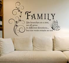family tree branches wall art sticker decals family tree wall art sticker