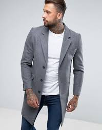 light grey wool coat men s wool coats men s wool jackets asos