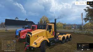 kenworth t800 truck kenworth t800 truck v 0 96b truck farming simulator 2017 2015