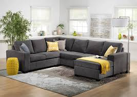 Charcoal Grey Sectional Sofa Sofa Gray Sectional Living Room Grey Sectional Sleeper Sofa