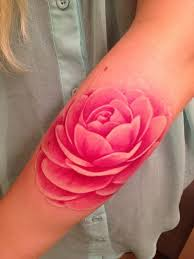 watercolor lotus tattoo attractive pink lotus watercolor tattoo designs on foream white