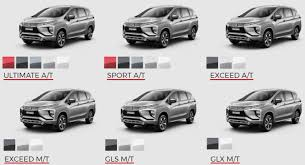 mitsubishi expander ultimate 5 pilihan warna favorit xpander dealer mobil mitsubishi xpander
