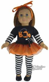 Candy Halloween Costumes Girls Candy Corn 18 Doll Halloween American Candy