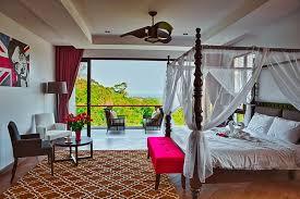 chambre thailandaise magnifique villa contemporaine de luxe avec piscine en hauteur en