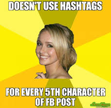 How To Post A Meme On Facebook - doesn t use hashtags for every 5th character of fb post meme