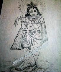 nena u0027s arts and crafts pencil drawing krishna meenakshi