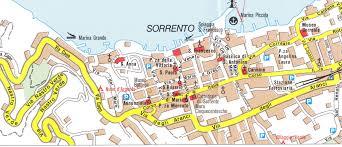 Map Of Pompeii Italy by Sorrento Peninsula Amalfi Coast Hiking Map U0026 Guide 1 50 000
