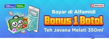 Teh Javana 350ml bonus 1 botol teh javana melati 350ml