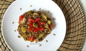 recette salade de lentilles et poireaux eats to travel