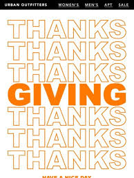 thanksgiving thanks outfitters upcoming thanksgiving event