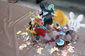 mickey mouse center pieces creative diy mickey mouse clubhouse 1st birthday party project