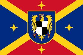Byzantine Empire Flag Hohenzollern Romanian Empire Flag By Rarayn On Deviantart