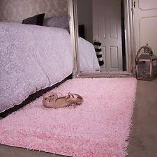 Pink Bedroom Rug Baby Pink Girls Shaggy Rug For Living Room Bedroom House Floor