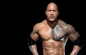 wallpaper tattoo actor dwayne johnson wrestler bodybuilder