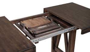 wood counter height table lone tree counter height table home zone furniture dining room