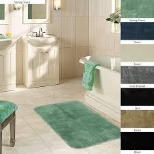 bathroom mat sets plush x non skid bath rug set of rugs large
