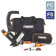 Husky Floor Nailer by Freeman Pneumatic Hardwood Flooring Nailer And Multi Cutter Combo