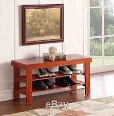 Solid Wood Entryway Storage Bench Durable Quality Solid Wood Shoe Storage Bench Entryway Bedroom