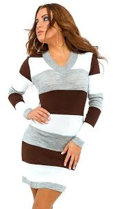 glamour empire women u0027s knit stretchy warm jumper dress sweater