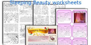 english teaching worksheets sleeping beauty