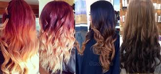 most popular ombre hairstyles colors for women 2016 2017