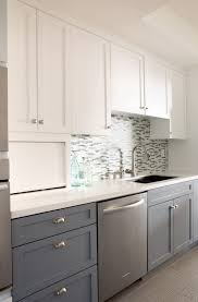 two tone cabinets kitchen two tone kitchen cabinets gray and white home design ideas