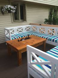 Ana White Patio Furniture Ana White Patio Table With Built In Beer Wine Coolers Diy Projects