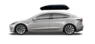 tesla model 3 rooftop cargo box
