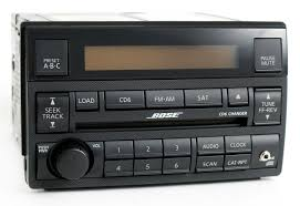nissan altima 2005 qatar nissan altima 2005 2006 am fm 6 disc cd player w aux bose