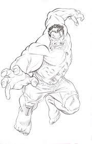 drawing of the hulk 488335