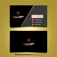 Business Card Backgrounds Free Download Free Business Card Design Template Vector Shapes Psd Business