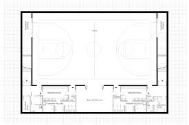 Basketball Court Floor Plan